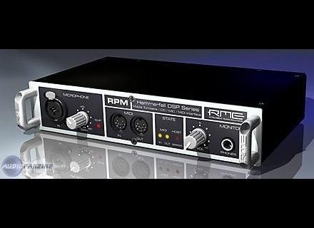 RME Audio Hammerfall DSP RPM
