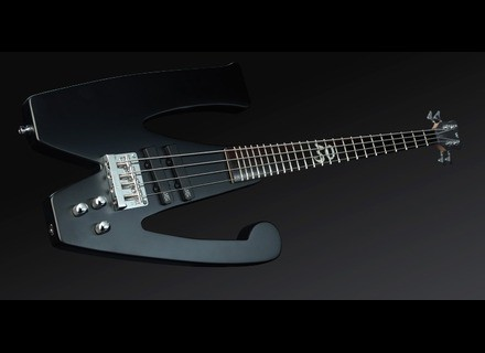 "Rockbass The ""W"" Bass - Black Stain"