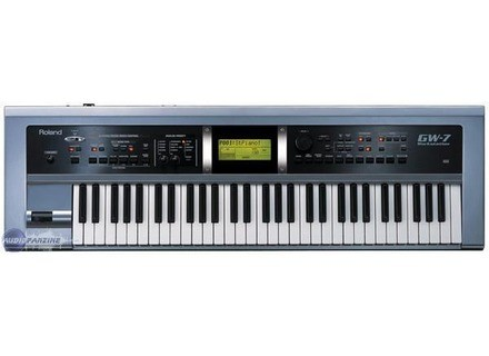 Roland GW-7 Workstation USB Windows 8 X64