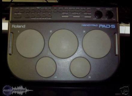 user reviews roland handypad pad 5 audiofanzine
