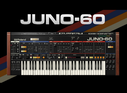 Roland Juno-60 Software Synthesizer