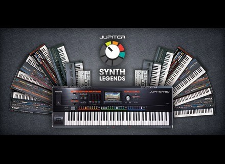 Roland Jupiter Synths Legends Vol1