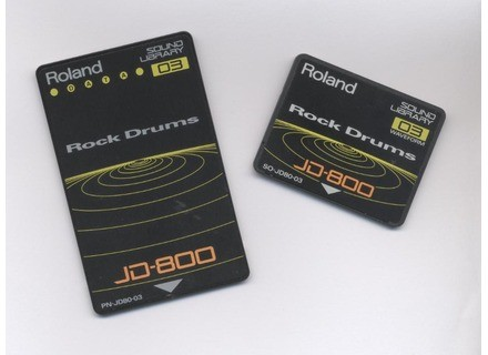 Roland PN-JD80-03 - Rock Drums