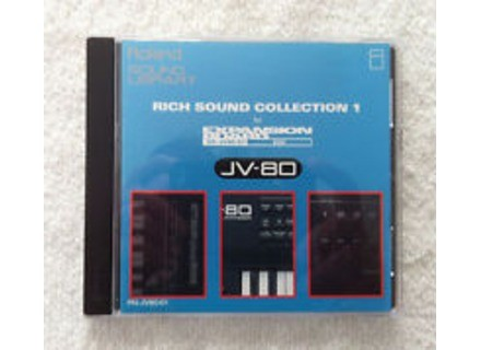 Roland PN-JV80-01 Rich Sound Collection 1