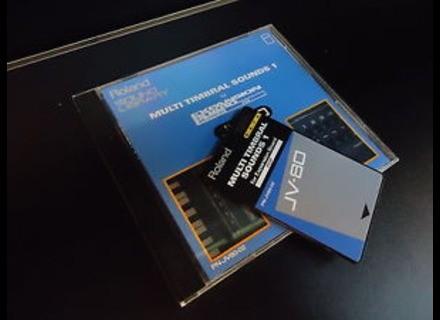 Roland PN-JV80-02 Multi Timbral Sounds 1