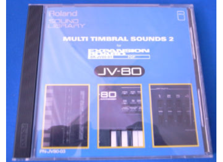 Roland PN-JV80-03 Multi Timbral Sounds 2