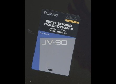Roland PN-JV80-07 - Rich Sound Collection 4