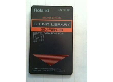 Roland SN-R8-03 : Sound Effects