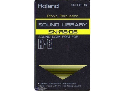 Roland SN-R8-06 : Ethnic Percussion