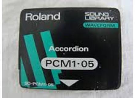 Roland SO-PCM1-05 : ACCORDION
