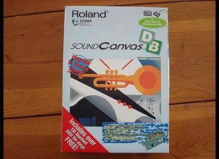 Roland sound canvas DB