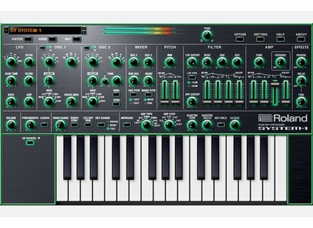 Roland System-1 Software Synthesizer