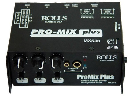 Rolls ProMix Plus MX54s
