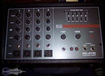 Ross Systems PC4110 powered mixer