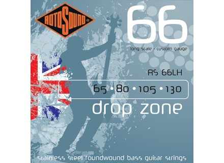 Rotosound Drop Zone RS66LH 65-130
