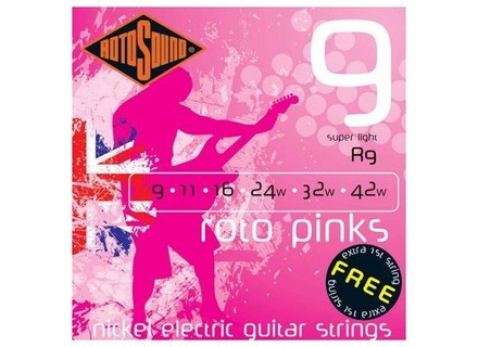 Rotosound Roto Pinks R9 9-42 Super Light