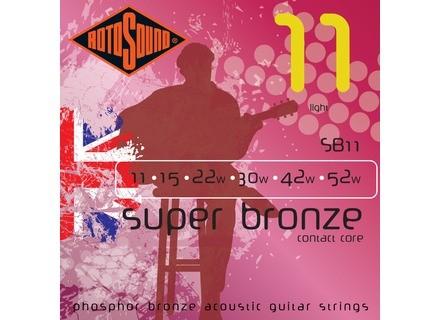 Rotosound Super Bronze SB11 11-52 Light