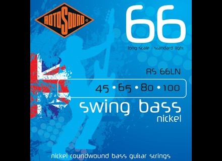 Rotosound Swing Bass 66 Nickel RS66LN 45-100