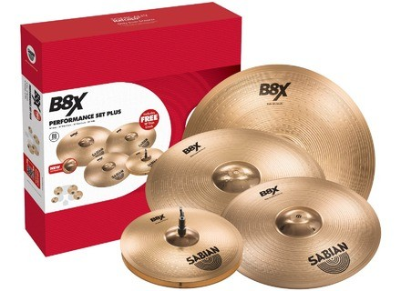 Sabian B8X Performance Set Plus