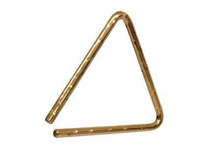 Sabian Hand Hammered B8 Bronze Triangle 6""
