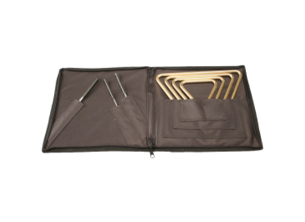 Sabian Regular Triangles & Striker Set w/ Attache Case