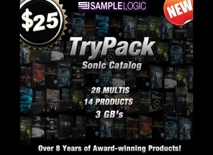 Sample Logic TryPack Sonic Catalog
