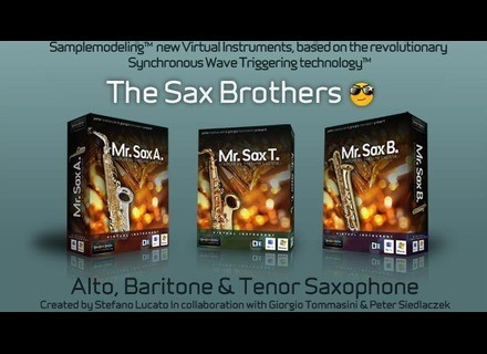 Sample Modeling The Sax Brothers