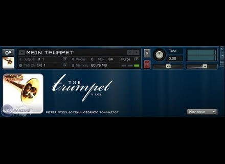 Sample Modeling The Trumpet