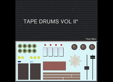 Samples From Mars Tape Drums vol II
