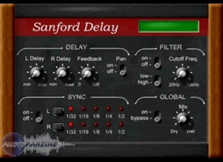 Sanford Sound Design Delay v2