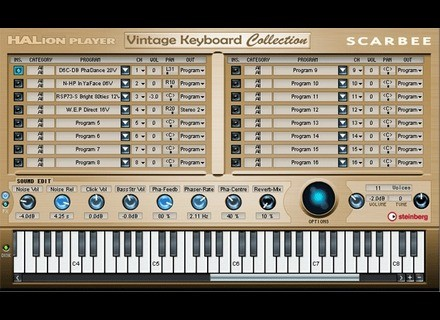 Scarbee Vintage Keyboard Collection