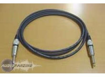 Schulz Kabel Cable Jack 6,3 Mm / Jack 6,3 Mm En Métal - 3 Mètres