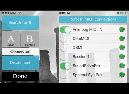send app via bluetooth