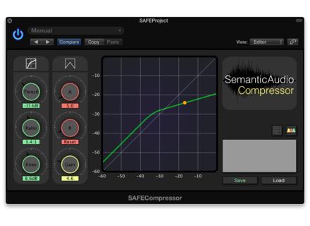 Semantic Audio SAFECompressor