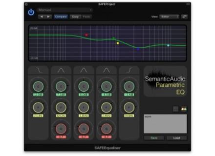 Semantic Audio SAFEEqualizer