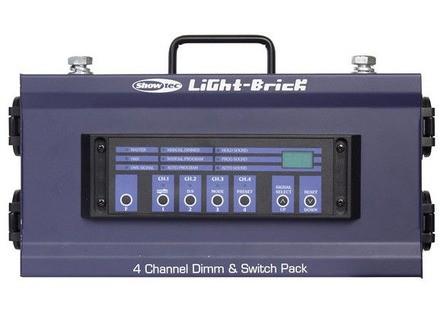 Showtec Lightbrick 4CH. Dimmer Pack DDX