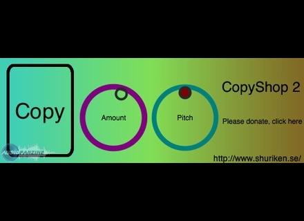 Shuriken Audio CopyShop 2 [Freeware]