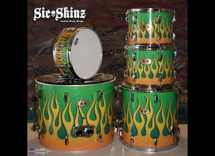 Sic*Skinz Custom Drum Wrap