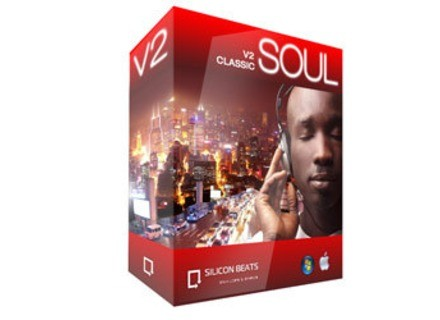 Silicon Beats Classic Soul Drum Loops V2