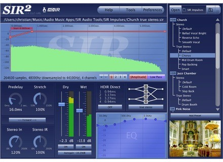 SIR Audio Tools SIR2