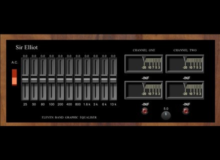 Sir Elliot Eleven Band Graphic Equaliser [Freeware]