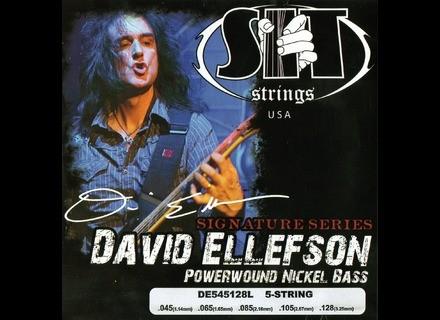 SIT Strings david ellefson signature series DE545428L
