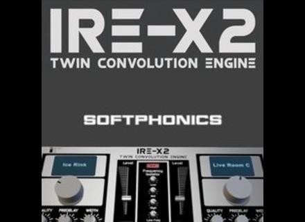 Softphonics IRE X2 Twin Convolution Reverb