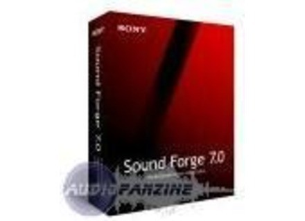 Sonic Foundry Sound Forge 7.0