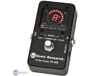 Sonic Research ST-200 Stomp Box Strobe Tuner