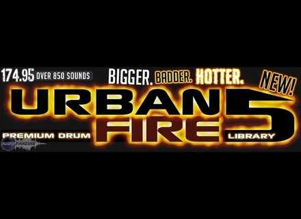 Sonic Specialists Urban Fire: Sounds of the Super Producers | Volume 5 Drum Library. Urban Fire 5
