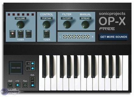 SonicProjects OP-X Free