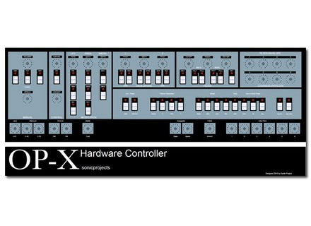 SonicProjects OP-X Hardware Controller