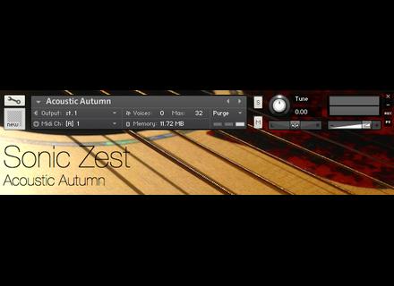 SonicZest Acoustic Autumn