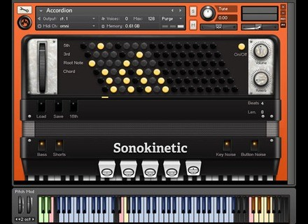 Sonokinetic Accordion